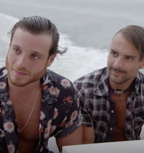 """The cast of """"Fire Island"""" gets properly schooled by two longtime locals"""