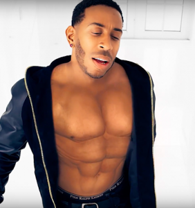The Internet is freaking out about Ludacris's thoroughly CGI abs
