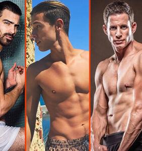 Nyle DiMarco's wet underwear; Tarek El Moussa's muscles; Colby Keller gets dirty