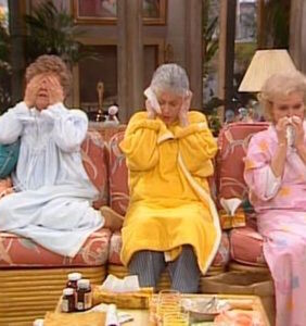 """""""It was Sophia in the kitchen with the cheesecake!"""" The Golden Girls-themed edition of Clue is here"""