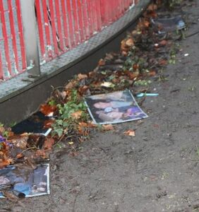 'I was drunk,' says vandal who burned photos of victims at HIV/AIDS memorial