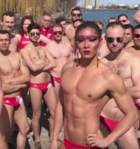 Gay water polo team finds unique way to get in the competition's heads