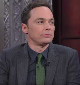 """Jim Parsons to Stephen Colbert: """"Are you feeling homophobic?"""""""