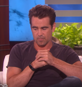 WATCH: Colin Farrell's manscaping confession makes Ellen blush