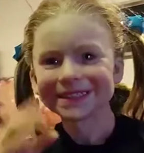 This unspeakable little girl mask is here to ruin your day and break you altogether