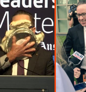 After getting pied in the face, gay CEO vows to fight even HARDER for marriage equality