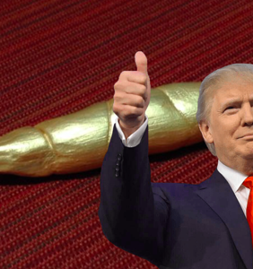 Someone is actually selling solid gold Trump turds on Etsy
