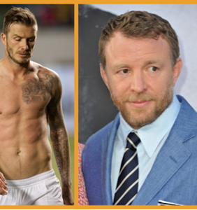 "Twitter is mad at Guy Ritchie for saying he goes to ""the gay gym"" with David Beckham"