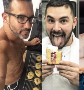 PHOTOS: Cute guys show off their skills in the kitchen on World Baking Day