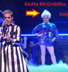 We identified the performers in Katy Perry's 'Swish Swish' on SNL
