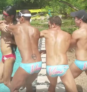 There's a gay water polo feud playing out on Facebook and it just got shady