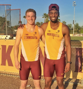 These college track stars came out to each other… and then fell in love