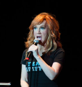 "Kathy Griffin on Anderson/Andy and her year in ""the Trump Wood chipper"""