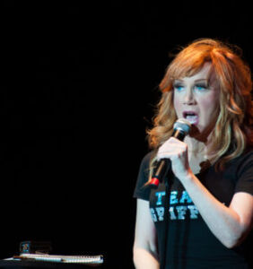 """Kathy Griffin on Anderson/Andy and her year in """"the Trump Wood chipper"""""""