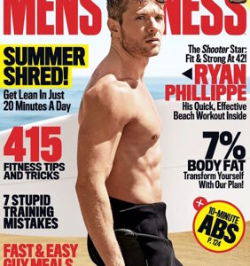 Ultra-jacked Ryan Phillippe; Brad Pitt gets heavy; Jussie Smollett wants to be naked all the time