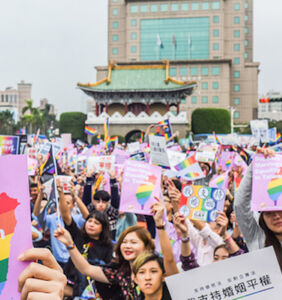 Twitter erupts after Taiwan becomes the first place in Asia to legalize gay marriage
