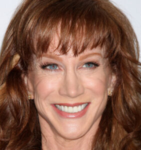Is this even legal? Kathy Griffin decapitates Trump in grisly photo shoot