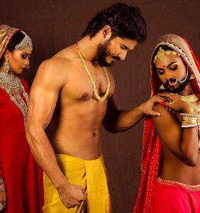 Stunning erotic photo series captures the struggles bisexual men face in India