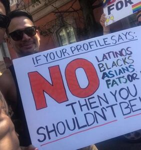 If you still insist your 'preferences' aren't racist then you're part of the problem