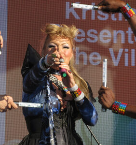 """Kristine W chats with Pam Ann about pride, HIV and """"being mistaken for a drag queen"""""""