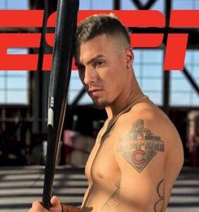 """Hunky baseball player Javier Baez bares all for ESPN's """"Body Issue"""""""