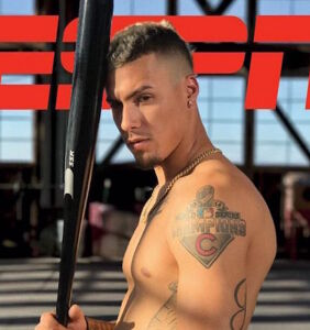 "Hunky baseball player Javier Baez bares all for ESPN's ""Body Issue"""