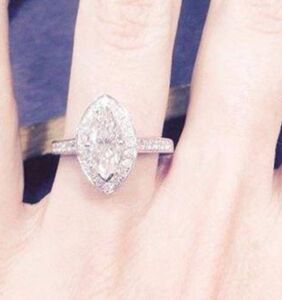 Jilted bride auctions off 18-carat engagement ring on eBay after husband-to-be 'turns gay'