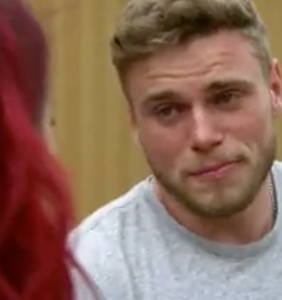 Gus Kenworthy breaks down while discussing his experiences coming out