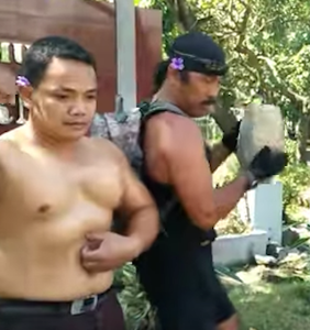 Bodybuilders band together for the most homoerotic antigay protest of all time