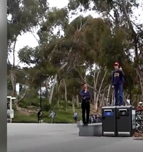 College student trolls antigay preacher in the most perfect way possible