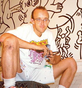 Keith Haring's greatest erotic masterpiece is hidden in an old men's room in NYC