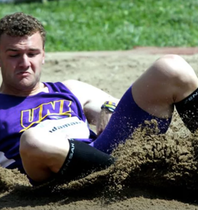 This college track & field star thanks a $700 vacuum cleaner for helping him to come out