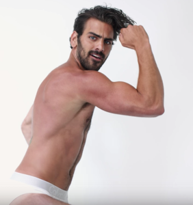WATCH: Nyle DiMarco celebrates Pride by jumping around on a trampoline in Calvin Klein briefs