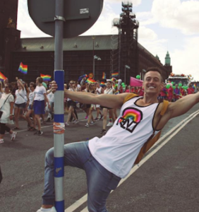What made Davey Wavey giggle and blush his way through SF Pride?