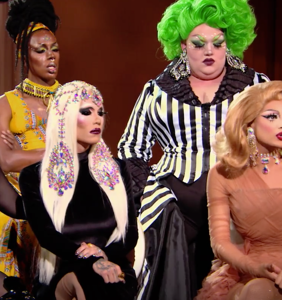 Valentina distances herself from her bullying fans, and the queens aren't having it