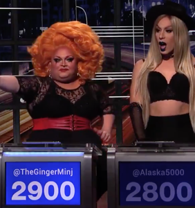 """""""Drag Race"""" queens give Republicans drag names. We lost it at Alaska's name for Ted Cruz."""