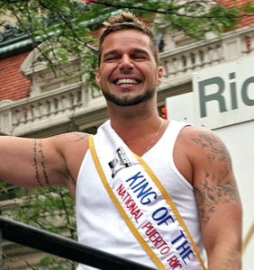 Ricky Martin was a total natural at filming his first gay sex scene. Surprised?