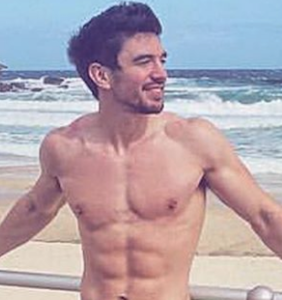 This is by far the most revealing swimsuit Steve Grand has ever worn, no?