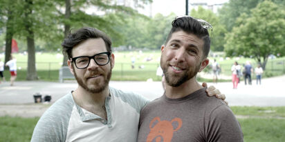 WATCH: Adorable gay couple get the surprise of a lifetime at their wedding party
