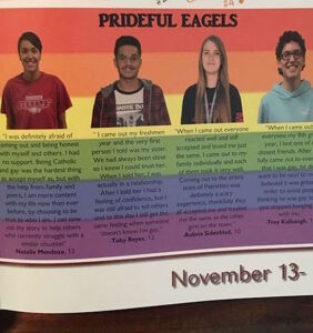 Parents outraged by LGBTQ page in high school yearbook
