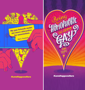 """Are these now-cancelled London Pride posters really homophobic """"trash""""?"""
