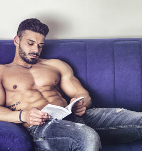 More and more guys are deleting Grindr and joining gay book clubs because reading is sexy