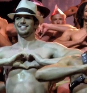 Steve Grand strips down for San Francisco's Broadway Bares. Curious?