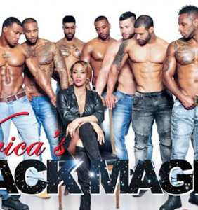 Vivica Fox is being sued for those homophobic comments she made about her all-male stripper revue