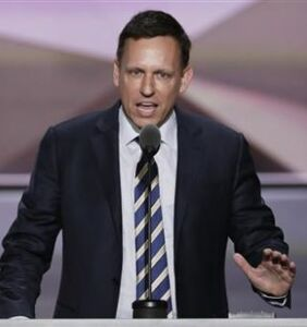 Those crickets you hear? That's Peter Thiel standing up to Trump's attacks.