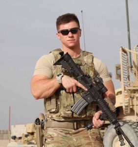 Trans Airman Sgt. Logan Ireland ain't afraid to stand up to President Donald Trump
