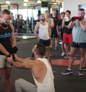 This may be the steamiest, sweatiest proposal to date