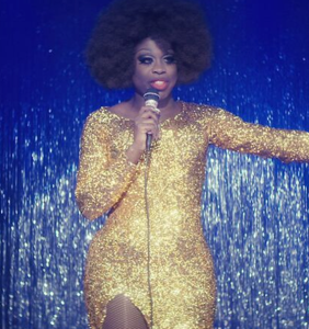 Bob the Drag Queen had an on-stage mishap that's nearly impossible to top