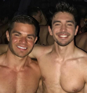 Steve Grand finds even smaller underwear for Independence Day