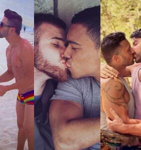 PHOTOS: Cute guys all around the world make out for International Kissing Day